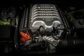 hellcat engine block 2015 dodge challenger srt hellcat first test motor trend