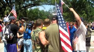 Desecrating The Flag Lsu Flag Burning Protest Video 1 Free Speech Alley Argument