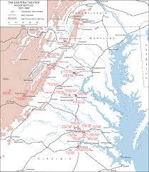Northern Virginia Map Us Map With Civil War Battles 7129f2820dab2b787232ca5bb43778af