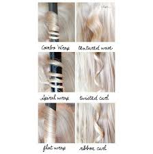 different ways to curl your hair with a wand musely