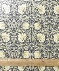 william morris pimpernel cream pvc oilcloth fabric by the metre