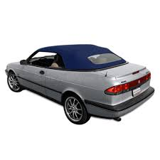 saab 900 convertible saab 900s u0026 900se 1995 96 convertible top dark blue