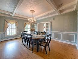Dining Rooms With Wainscoting Traditional Dining Room With High Ceiling U0026 Wainscoting Zillow