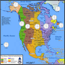 Zone Map Usa by Usa Time Zone Map And America Time Zone Map Roundtripticket Me