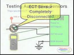 ect sensor u0026 wiring diagram youtube