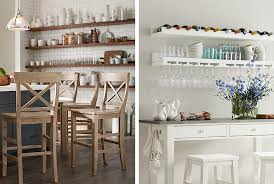 how to organize open kitchen cabinets how to organize shelves kitchen pottery barn
