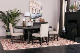 5 piece living room set jaxon 5 piece round dining set w upholstered chairs living spaces