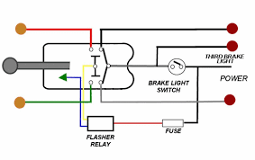 brake light switch wiring brake light wiring with 3 wire turn signal help the h a m b