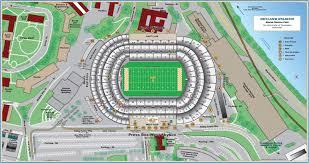 Kauffman Stadium Map Neyland Stadium Seating Chart
