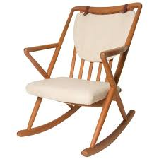 Bamboo Rocking Chair Vintage Italian Bamboo Rocking Chair With Square Arms For Sale At