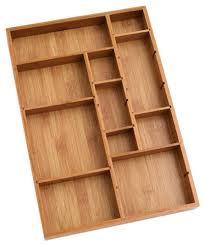 Wood Desk Drawer Organizer Home Office Organization Ideas