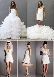 chagne wedding dress tuesday trends the wedding dress change