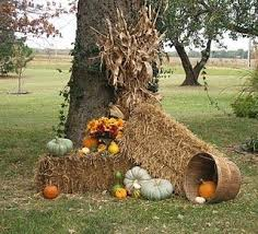 Outdoor Fall Decor Ideas - the 25 best outdoor fall decorations ideas on pinterest