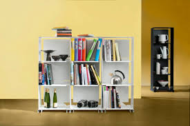 furniture outstanding modular bookshelves with ivory paint walls