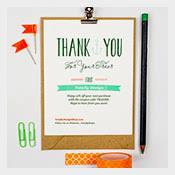 322 thank you cards u2013 free printable psd eps word pdf