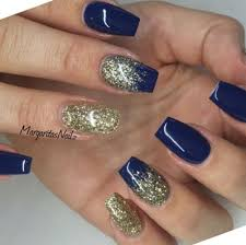 35 navy blue and silver nail designs picsrelevant