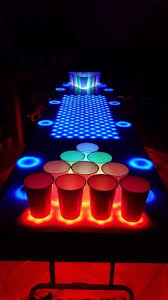 Custom Beer Pong Tables by Interactive Led Beer Pong Table 2 0 Bpt X5 40 Steps With Pictures