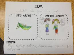 free idioms lesson and activity tpt language arts lessons