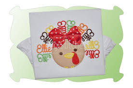 turkey applique digistitches machine embroidery designs