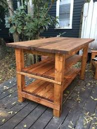 how to build a butcher block counter island diy kitchen island