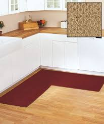 L Shaped Kitchen Rug 68 X 68 Berber Corner Runners The Lakeside Collection