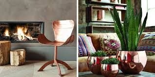 copper decor accents get your shine on with metallic home decor furnishmyway blog