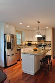 Kitchen Backsplash Photos White Cabinets by 273 Best Granite With White Cabinets Images On Pinterest White