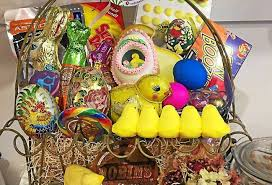 filled easter baskets fill your easter basket with classic treats and solid