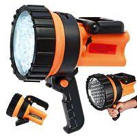 work zone rechargeable led work light workzone rechargeable halogen spotlight 1 million candle power ebay