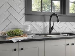 Matte Black Kitchen Faucet 9181bldst In Matte Black By Delta Faucet Company In Atlanta Ga