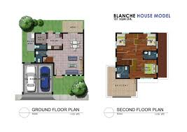 house models plans blanche house model floor plans 1k moldex new city metrogate