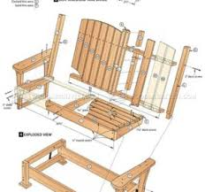 Free Wood Bench Glider Plans by Free Outdoor Glider Bench Plans Garden Glider Plans Outdoor Glider