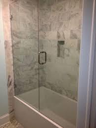 bathtub glass doors frameless view our work page 4 of 8 frameless shower doors richmond