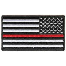 Reverse Color American Flag Thin Red Line American Flag Reversed Patch
