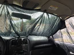 simple easy walmart camping privacy curtains for your car 5 steps