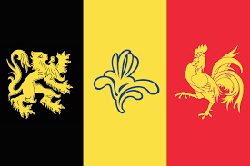 Belgia Flag Pan Belgian Flag Vexillology
