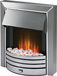 freeport chrome optiflame electric inset fire dimplex