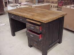 Rustic Wood Office Desk Desks Office Furniture Creative Rustic Furniture Unique Custom