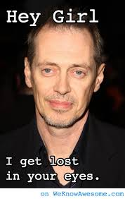 Steve Buscemi Eyes Meme - hey girl get lost in steve buscemi s eyes we know awesome