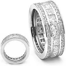mens eternity rings 18k gold diamond eternity rings collection item 5ctw diamond