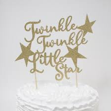 aliexpress com buy twinkle twinkle little star cake topper baby
