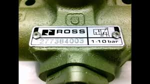 ross 2773b4003 control valve attached 400c79 solenoid valve