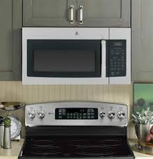 Microwave With Toaster Oven Ge Jvm3160rfss Over The Range Microwave Oven With 1 6 Cu Ft