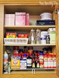 Spice Cabinet Organization Ways To Organize Kitchen Cabinets Roselawnlutheran