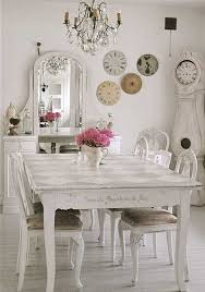 Shabby Chic Dining Table Sets Shabby Chic Dining Room Furniture Large And Beautiful Photos