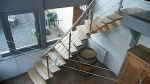 limon d escalier en bois fabrication d u0027un escalier contemporain avec limon central par abema