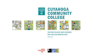 ing ierie bureau d udes cuyahoga community academic and facilities master plan by