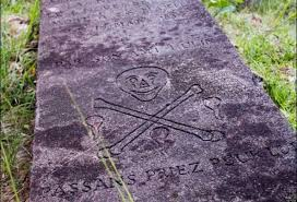quotes in spanish for headstone inside the world u0027s only pirate cemetery huffpost