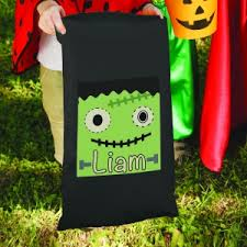 halloween personalized trick or treats bags giftsforyounow