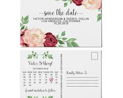 inexpensive save the date cards cheap save the date etsy